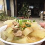 谷川製麺所 - いっぱい盛ってみました(≧▽≦)