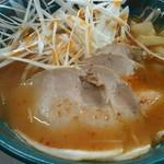 旭川ラーメン 三条軒 - 料理写真:ねぎラーメン 辛口味噌