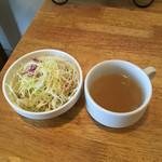 パスタヤ - サラダ、スープ