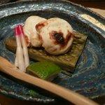 新鮨し - 河豚の白子焼き