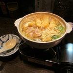 居酒屋まるいち - 特製カレー鍋 (※冬限定)