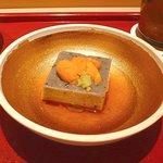 百味処 おんじき - 黒胡麻の豆腐