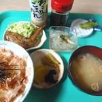 七滝観光センター - 料理写真:わさび御膳です