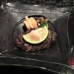 ふたり静 - 黒毛和牛サーロイン網焼きステーキ