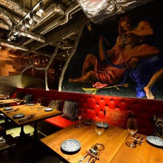 プライベート空間で、最高の料理と最高のおもてなし