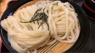 元咲 - ざるうどん大盛り 550円
