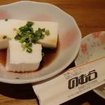 ぱいぱいのむら - ジーマミ豆腐