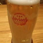 ぱいぱいのむら - オリオン生ビール