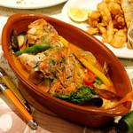 本日魚介と海の幸のスペイン風ブイヤベース