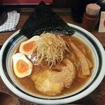花壱 - 【花壱ら~麺 + 煮卵】¥700 + ¥100