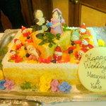 アルモニコ - 結婚式2次会プランもオススメ!このアレンジケーキがプレゼント!!!