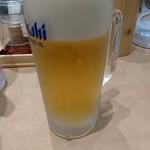 築地食堂 源ちゃん - 生ビール