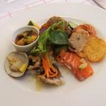 ル・プラ・プリュ - 前菜7種盛り