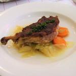 ル・プラ・プリュ - 鴨もも肉のコンフィー