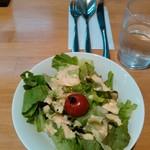 レストラン グリル サクライ - セットのサラダ