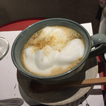 あべまき茶屋 - ほうじ茶ラテ