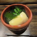 64895303 - 京都の筍と淡路のワカメの吉野煮