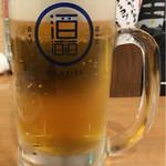 蔵元直送 日本酒ベロ呑み放題酒場 上よし - 生中(金麦)