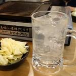 肉小屋フィーバー たむ兄 - 2017年1月 チューハイレモン【400円】
