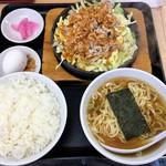 大盛軒 - 「鉄板麺」880円