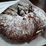 ミスタードーナツ - ショコラデニッシュホイップ。