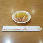 オークレストラン - サービスの「大根煮」です。