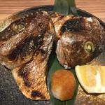 かんつばき - 真鯛のかぶと焼き¥800