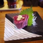 そば処茶屋 - 料理写真:馬肉~☆