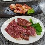 焼肉ジャン - 料理写真:「下駄カルビ&上バラ」
