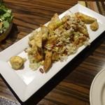 コクエレ - 茄子のカリカリ揚げ焙煎山椒風味