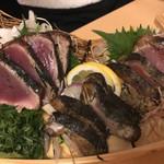 熟成魚と日本酒と藁焼き 中権丸 - 藁焼き盛り合わせ 4人前分