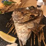 熟成魚と日本酒と藁焼き 中権丸 - 本日のかま焼き 鯛