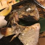 熟成魚と日本酒と藁焼き 中権丸 - 本日のかま焼き しまあじ