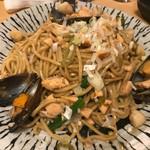 熟成魚と日本酒と藁焼き 中権丸 - 海鮮焼きそば