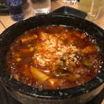 熟成魚と日本酒と藁焼き 中権丸 - 海鮮麻婆豆腐
