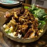 コクエレ - 蒸し鶏の冷製マーラーソース
