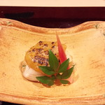 日本料理 百屋 - さわらのふき味噌焼き