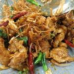 和sian-cafe aimaki - イチオシ、絶品‼️ガイトート・サムンプライ(要予約)鶏肉とハーブのクリスピー揚げ