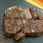 幸魚 - 料理写真:宮崎牛熟成肉のステーキ
