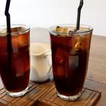 天満屋サンド - twoアイスコーヒー's