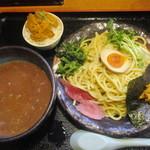 竹本商店☆つけ麺開拓舎 - ウニつけ麺、ウニ飯