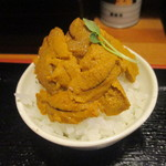 竹本商店☆つけ麺開拓舎 - ウニ飯