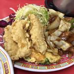 大王 - 日替りランチ 酢豚