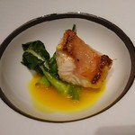 鉄板焼 銀明翠 - カサゴのソテー