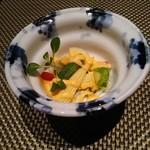 鉄板焼 銀明翠 - 春野菜のサラダ