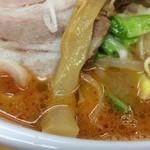 64907981 - スープの状態辛さ普通=2辛