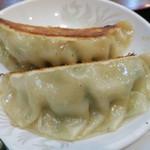 中華料理シーズ - 八宝菜のセットに付く餃子