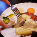 イタリアンキッチン Sa - ふわふわハンバーグ
