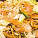 鶴橋風月 - 「野菜たっぷり焼きそば」
