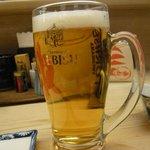 6491882 - 生ビール(エビス)大ジョッキ980円★★☆